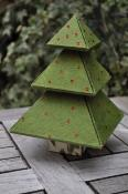 Le sapin surprise, fiche technique de cartonnage