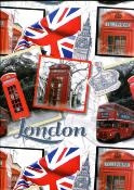 London, papier fantaisie italien