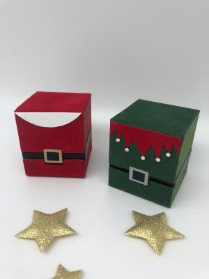 La Christmas box, fiche technique de cartonnage
