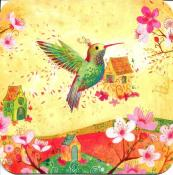 Hummingbird, carte d'art