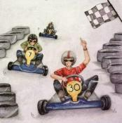 Karting ML09, carte d'art