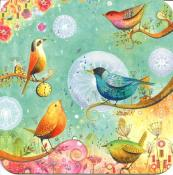 Birds, carte d'art