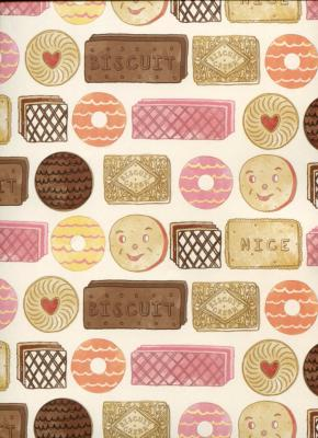 Biscuits, papier fantaisie